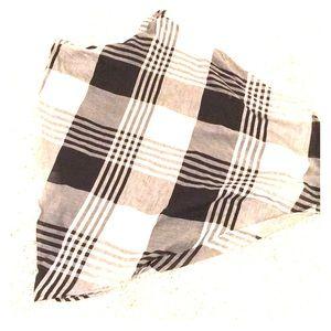 Coldwater Creek black white circle skirt PL